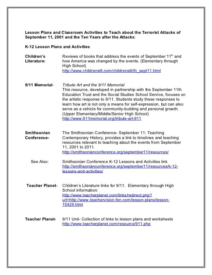 Patriot day packet september 2012 – Patriot Day Worksheets