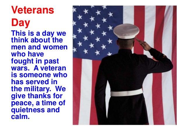 Patriotic Veterans Day Symbols