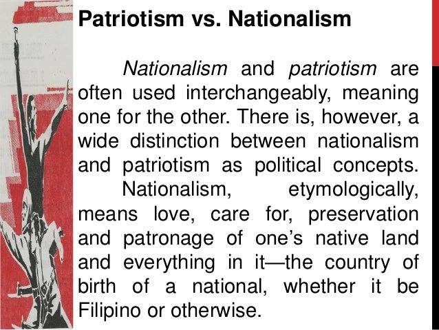 What is patriotism essay