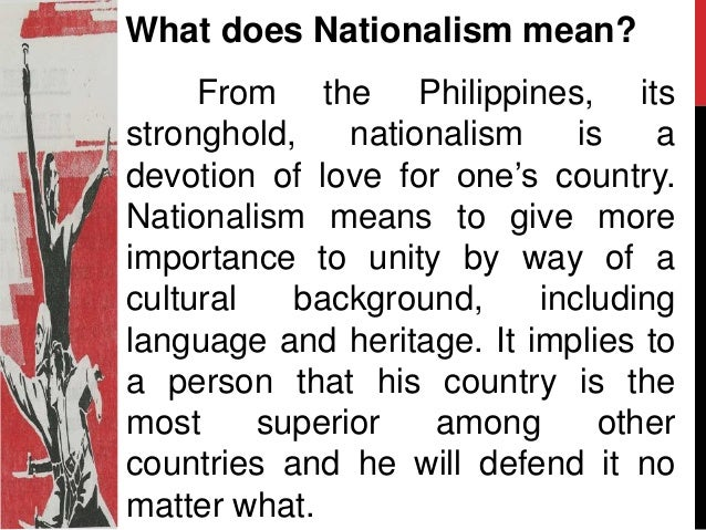 nationalism and patriotism Photo credit: ilmungo william n grigg, formerly of the john birch society, has an excellent post about the distinction between patriotism and nationalism:.