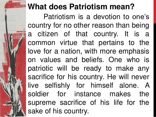 the definition of nationalism Nationalism: nationalism, ideology based on the idea that the individual's loyalty and devotion to the nation-state surpass other individual or group interests.