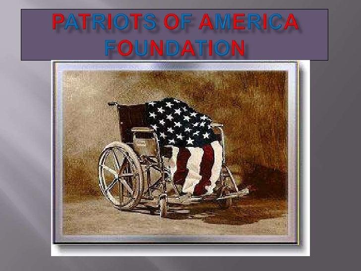Patriots Of America Foundation<br />