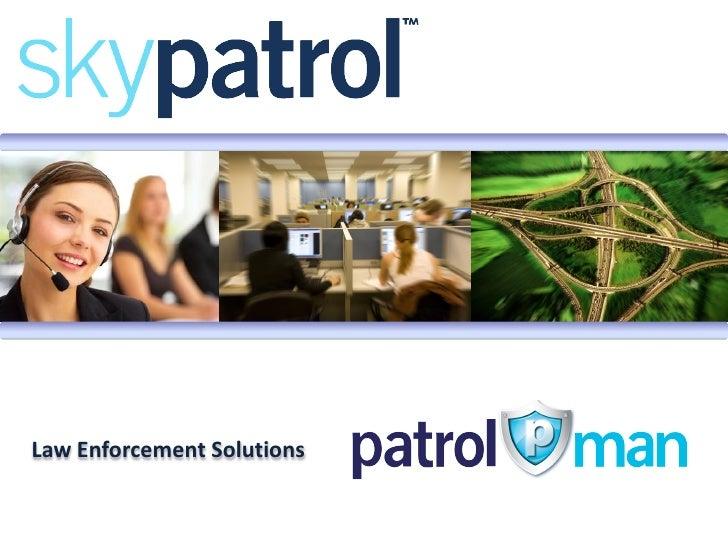 Law Enforcement Solutions