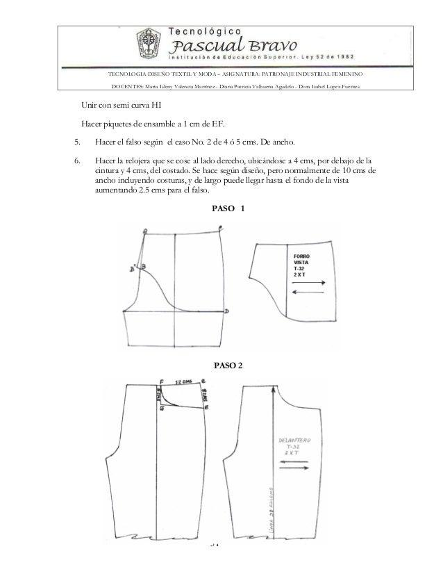 Patronaje masculino-pdf
