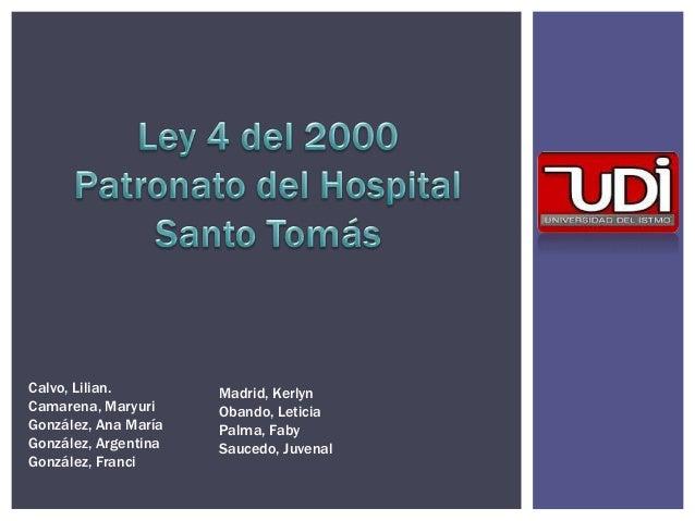 Calvo, Lilian. Camarena, Maryuri González, Ana María González, Argentina González, Franci Madrid, Kerlyn Obando, Leticia P...
