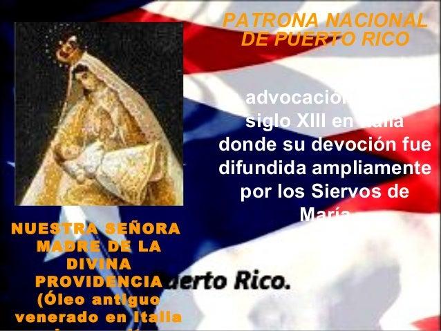 PATRONA NACIONAL                      DE PUERTO RICO                     La advocación data del                        sig...