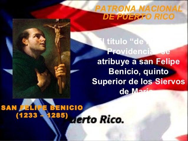 """PATRONA NACIONAL                      DE PUERTO RICO                      El título """"de la Divina                         ..."""