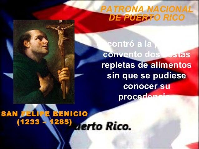 PATRONA NACIONAL                      DE PUERTO RICO                     encontró a la puerta del                      con...