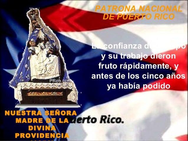 PATRONA NACIONAL                  DE PUERTO RICO                 La confianza del obispo                   y su trabajo di...