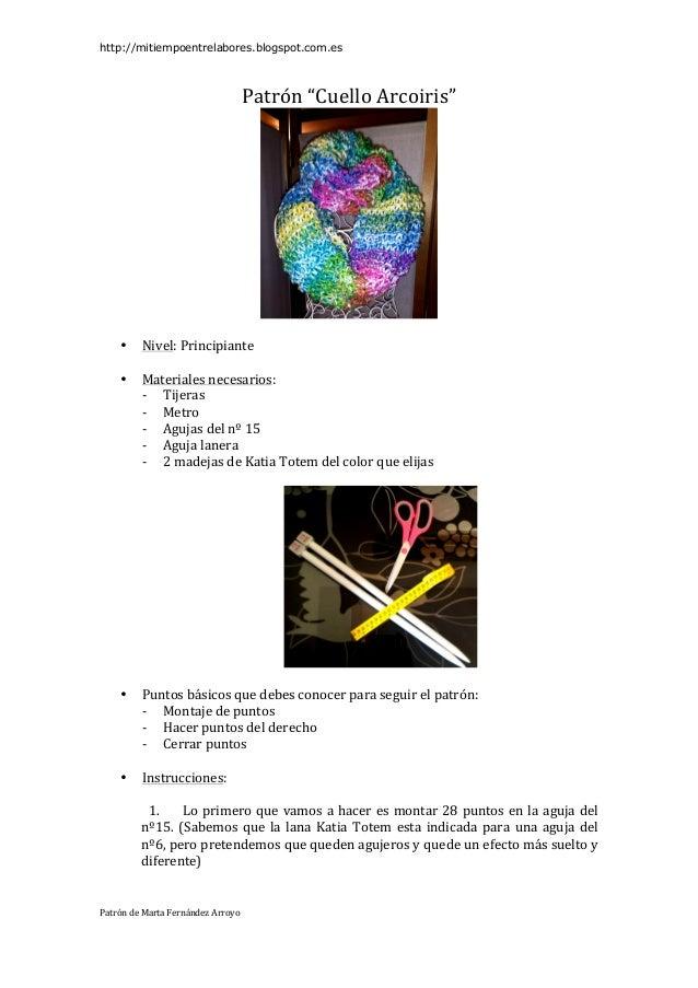 Patr n cuello arcoiris for Minimal art slideshare