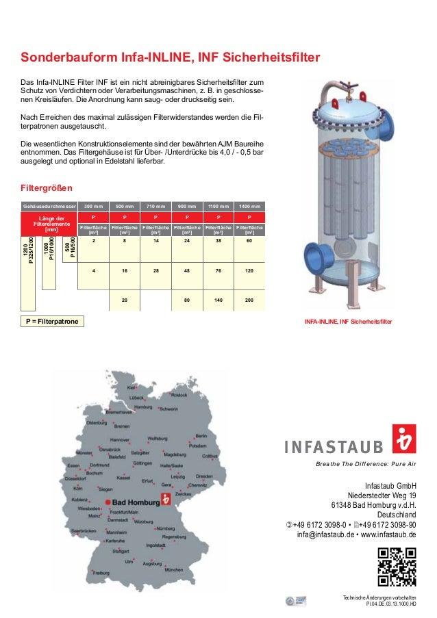 Infastaub GmbH Niederstedter Weg 19 61348 Bad Homburg v.d.H. Deutschland )+49 6172 3098-0 • 2+49 6172 3098-90 infa@infasta...