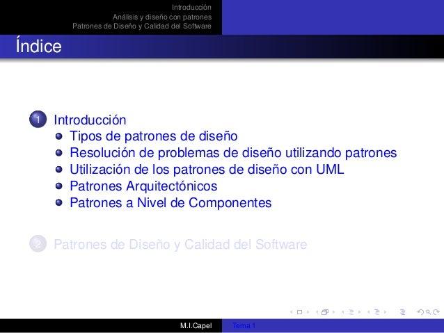 Patrones diseño de software Slide 2