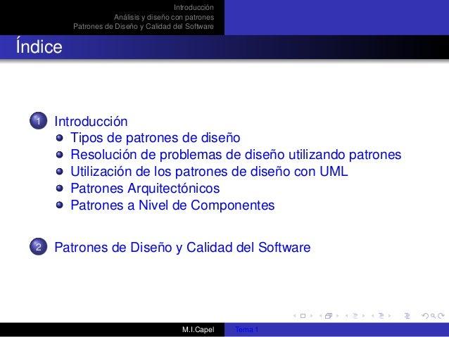 Patrones diseño de software Slide 3
