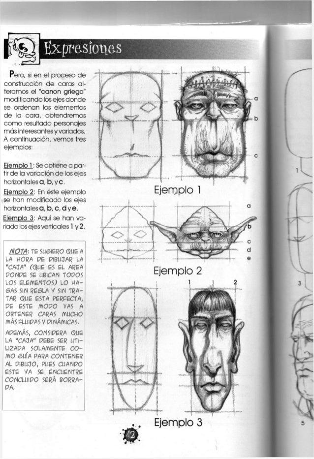 LT^ f Expresiones En el caso d e la construcción d e rostros femeninos, c a b e mencionar que estos se rigen por las misma...