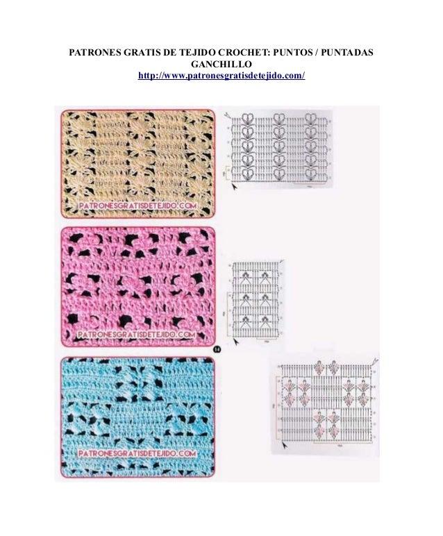 Perfecto Los Patrones De Crochet Libre De Cocodrilo Puntada ...