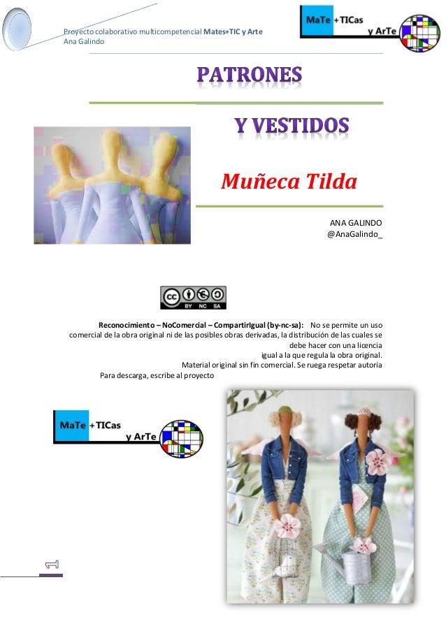 Patrones Y Vestidos Muñeca Tilda