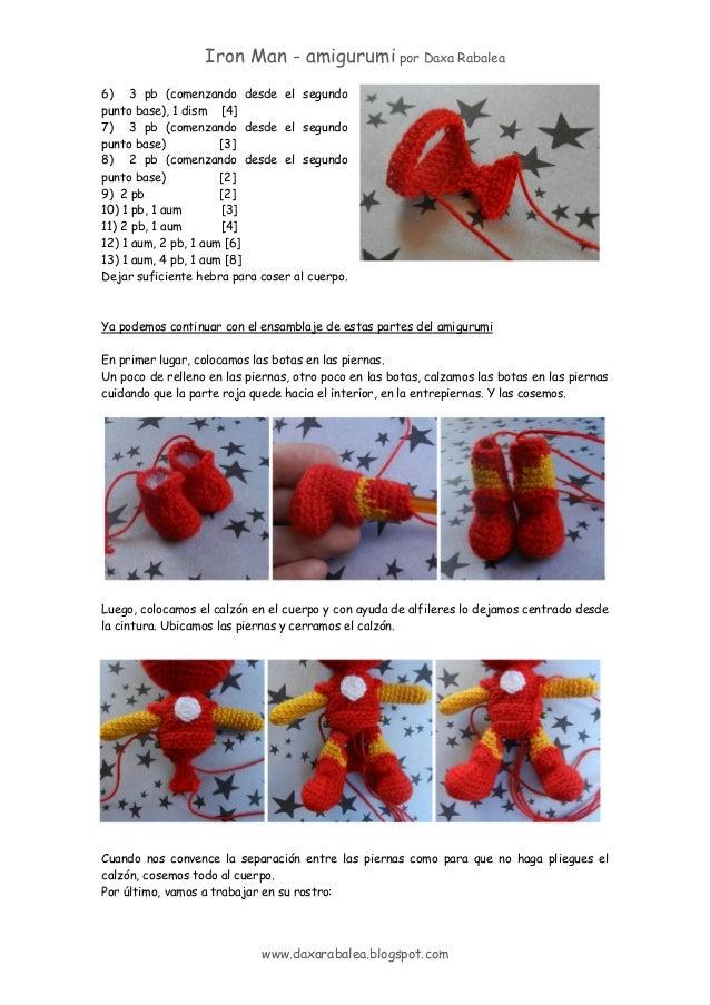 Iron Man FREE Pattern – Lemon Yarn | 903x638
