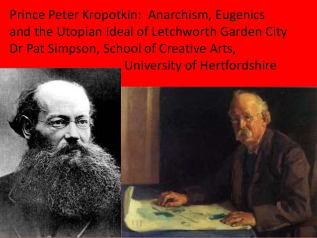 Dr Pat Simpson Prince Peter Kropotkin Anarchism eugenics and the