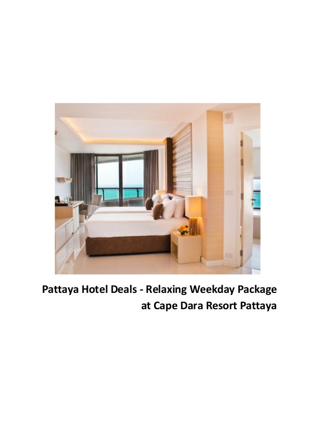 Pattaya Hotel Deals - Relaxing Weekday Package at Cape Dara Resort Pattaya