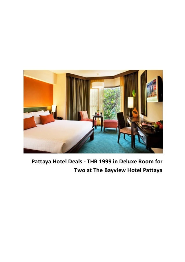 Pattaya Hotel Deals - THB 1999 in Deluxe Room for Two at The Bayview Hotel Pattaya