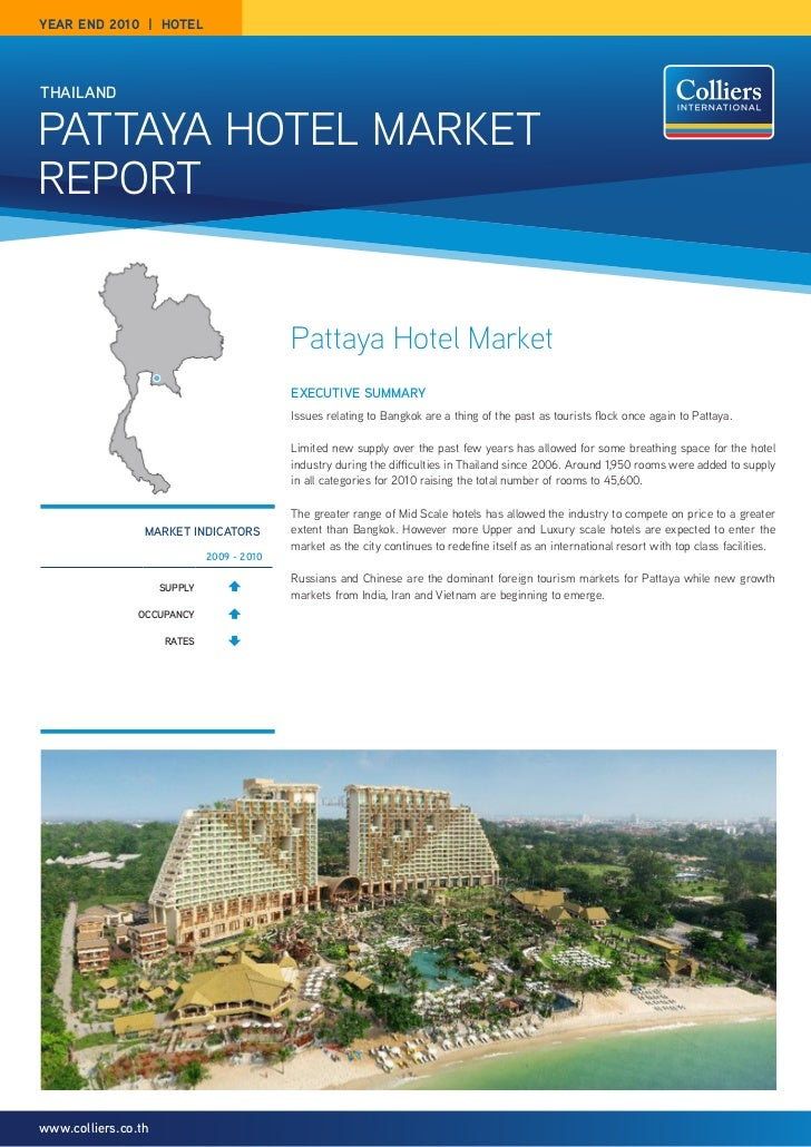 year end 2010 | hotelthailandPattaya Hotel MarketrePort                                            Pattaya Hotel Market   ...