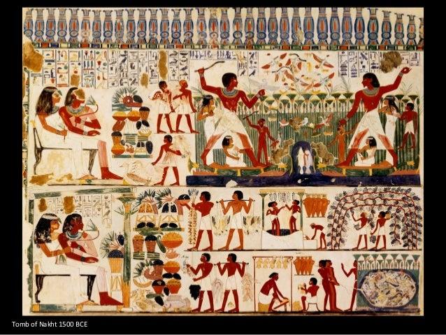 Tomb of Nakht 1500 BCE