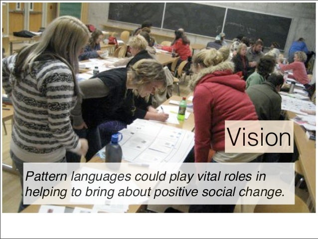 Pattern Languages for Public Problem Solving: Seven Seeds for Theory and Practice Slide 3