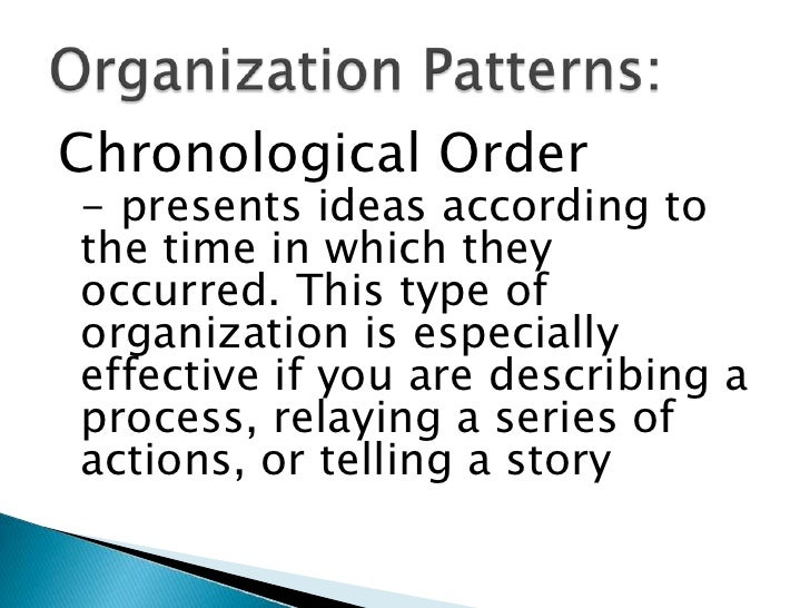 patterns of paragraph development When beginning to write, it is helpful to determine the patterns of development that are most effective for your purpose and audience some general patterns of development are: cause and effect details why something happens, what causes it, what are the effects and how it is related to something else.