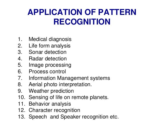 Image result for medical diagnosis pattern recognition