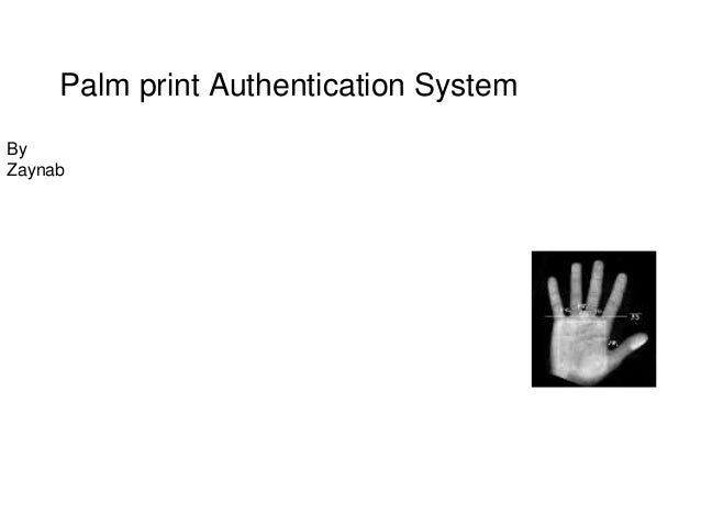 PALMPRINT AUTHENTICATION EBOOK DOWNLOAD