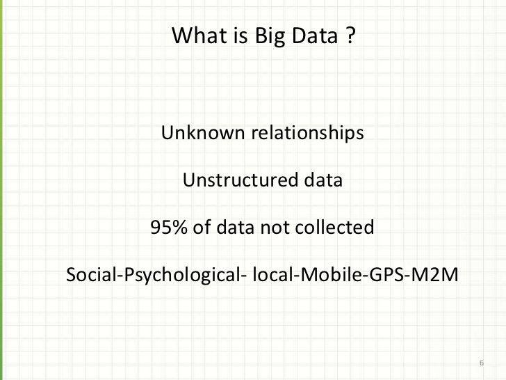 Social CRM integrates social (psychological) data                                                    7