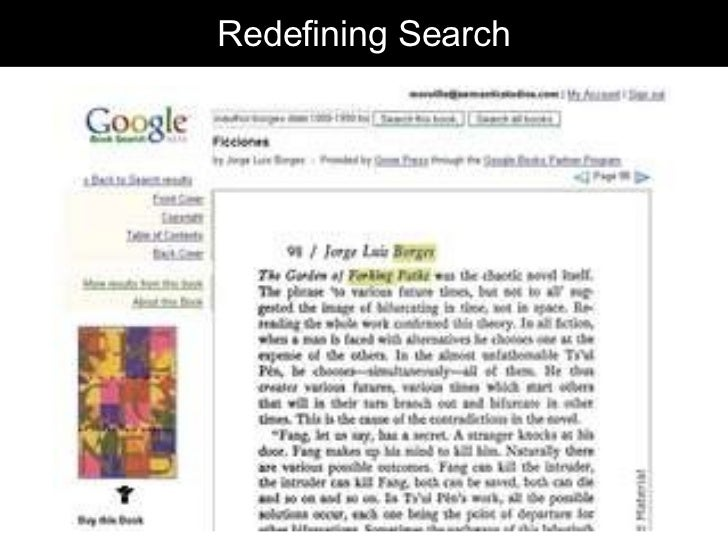Redefining Search
