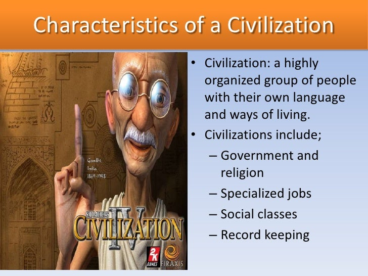 Patterns of early civilization