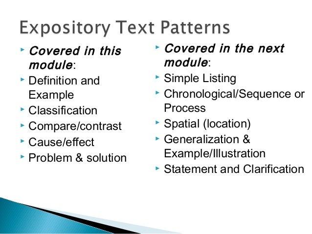 patterns of organization part 1