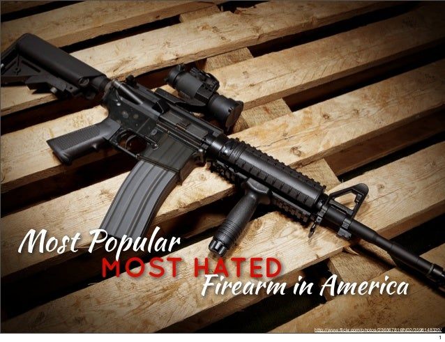 Text  Most Popular  MOST HATED Firearm in America http://www.flickr.com/photos/23656781@N02/3598148339/  1