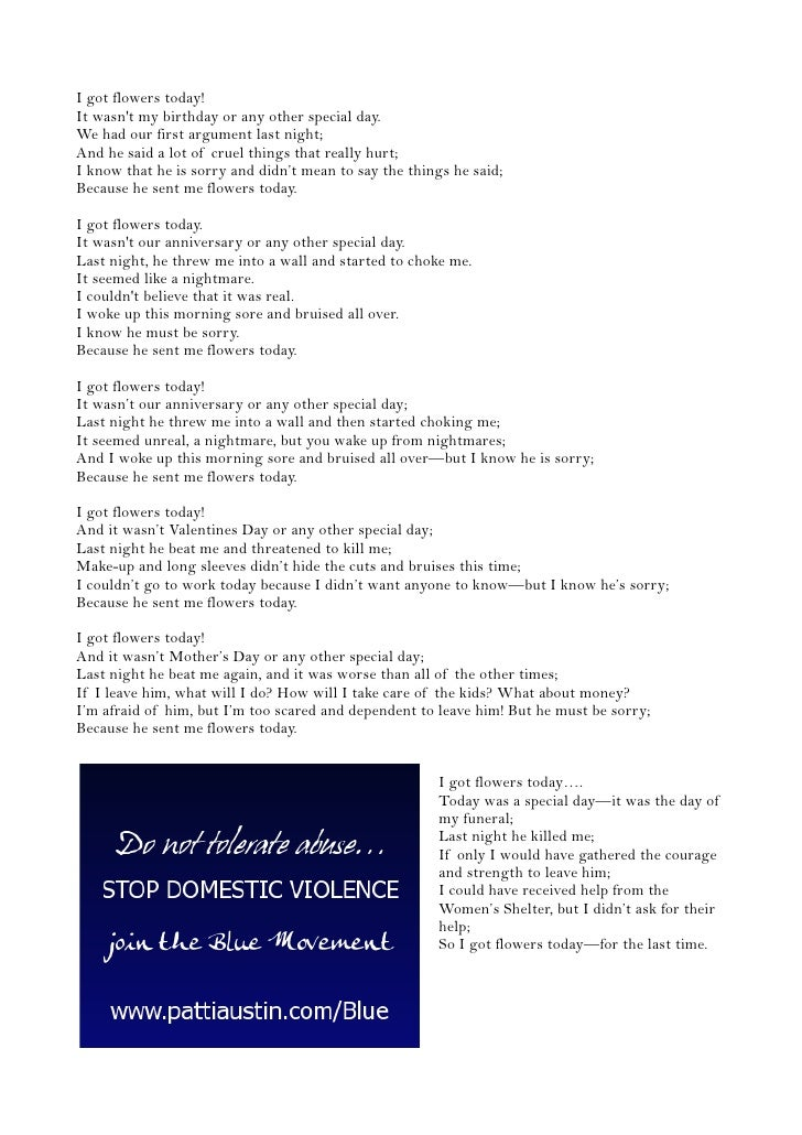 an analysis of domestic violence today Who fact sheet on violence against women providing key exposure to domestic violence -level surveys based on reports from victims provide the most accurate estimates of the prevalence of intimate partner violence and sexual violence a 2013 analysis conduct by who with the.