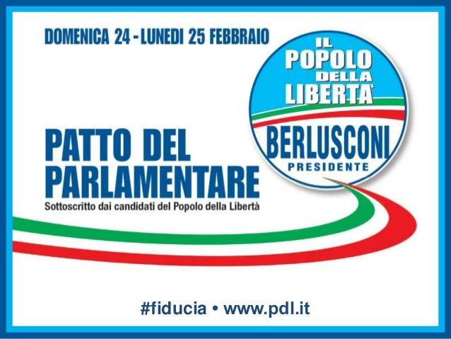 #fiducia • www.pdl.it