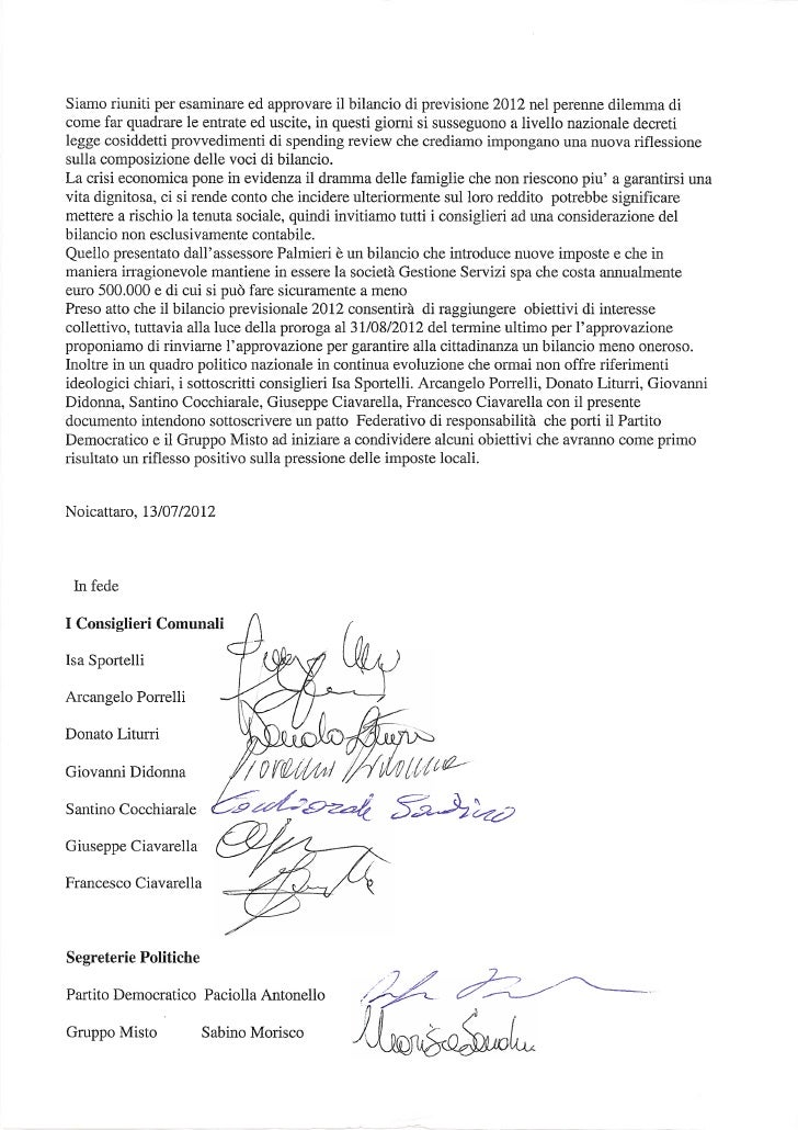 Patto federativo gruppo misto   pd