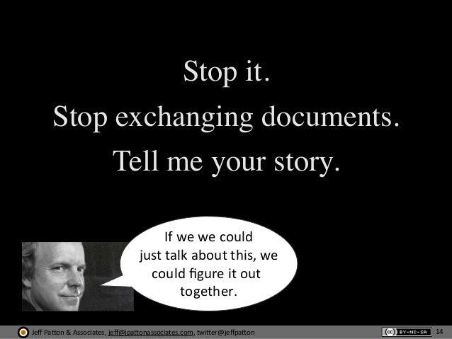 Jeff  Pa'on  &  Associates,  jeff@jpa'onassociates.com,  twi'er@jeffpa'on Stop it. Stop exchanging documents. Tell ...