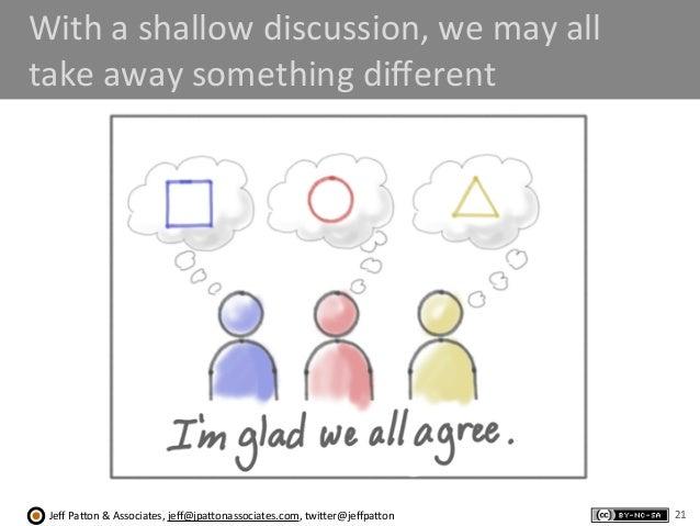 Jeff  Pa'on  &  Associates,  jeff@jpa'onassociates.com,  twi'er@jeffpa'on With  a  shallow  discussion,  we...