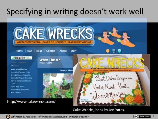 Jeff  Pa'on  &  Associates,  jeff@jpa'onassociates.com,  twi'er@jeffpa'on Specifying  in  wri?ng  doesn't  ...
