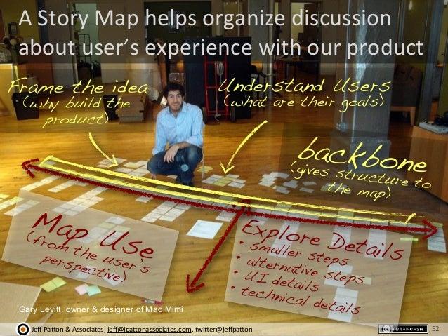 Jeff  Pa'on  &  Associates,  jeff@jpa'onassociates.com,  twi'er@jeffpa'on A  Story  Map  helps  organize  ...