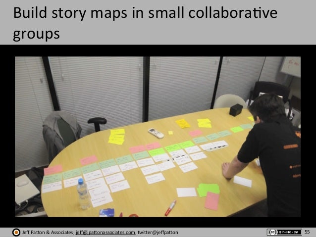 Jeff  Pa'on  &  Associates,  jeff@jpa'onassociates.com,  twi'er@jeffpa'on Build  story  maps  in  small  ...