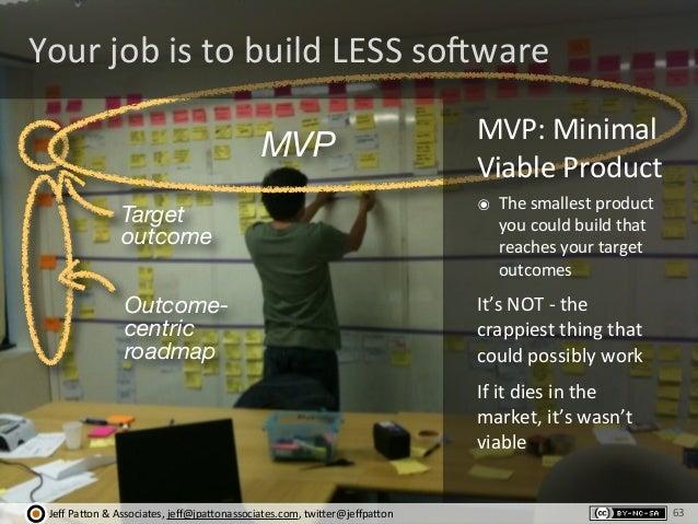Jeff  Pa'on  &  Associates,  jeff@jpa'onassociates.com,  twi'er@jeffpa'on Target outcome Outcome- centric roadmap M...