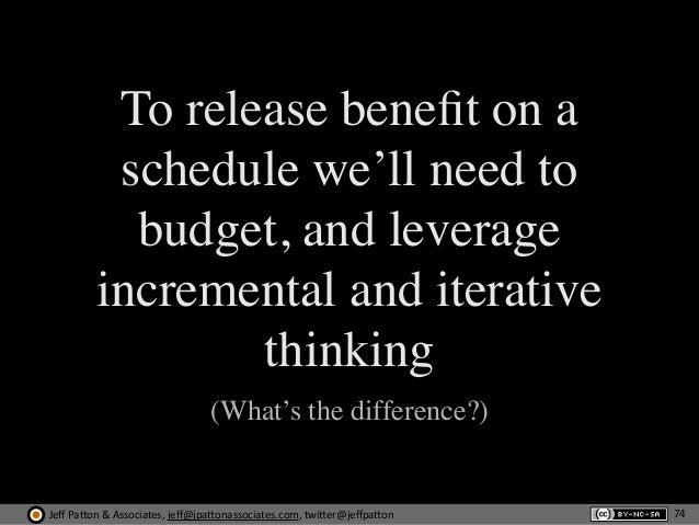 Jeff  Pa'on  &  Associates,  jeff@jpa'onassociates.com,  twi'er@jeffpa'on To release benefit on a schedule we'll nee...