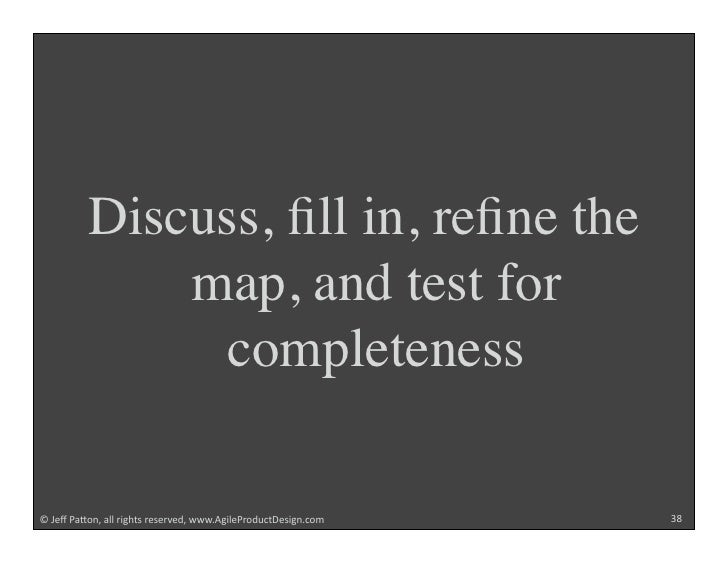 """Discuss, fill in, refine the               map, and test for                 completeness  !""""#$%""""&'()*+""""',,""""-./012""""-$2$-3$4+..."""