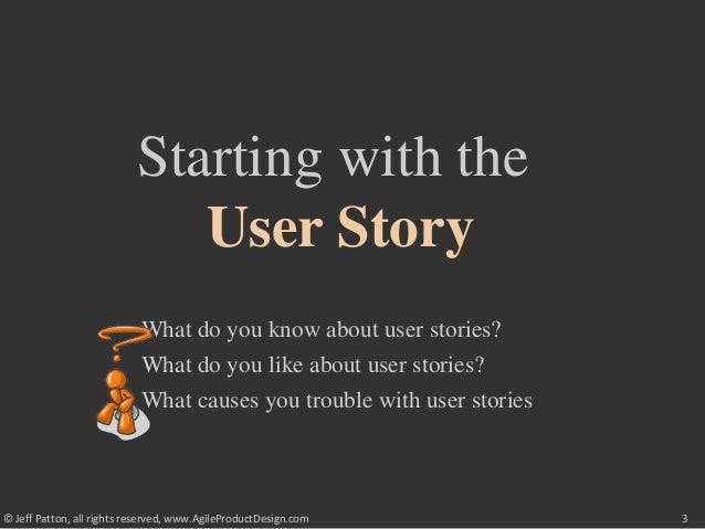 User Story Mapping (2008) Slide 3