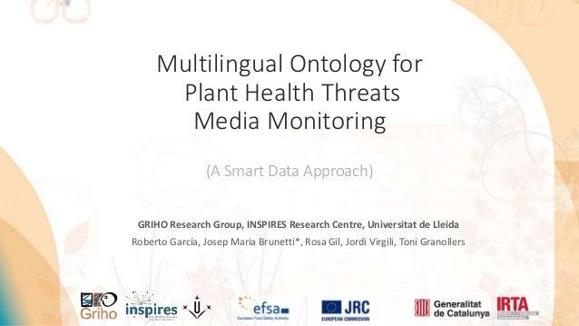 GRIHO Research Group, INSPIRES Research Centre, Universitat de Lleida Roberto García, Josep Maria Brunetti*, Rosa Gil, Jor...