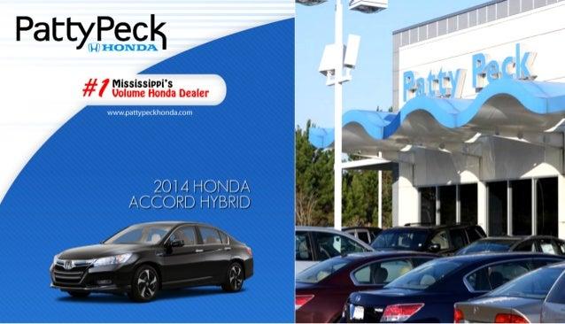 2014 honda accord hybrid for sale near jackson ms patty for Patty peck honda jackson ms