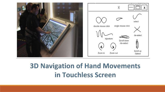 Touchless Touchscreen